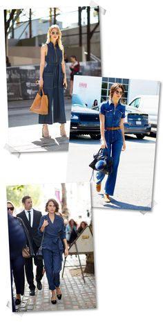How to Style a Denim Jumpsuit