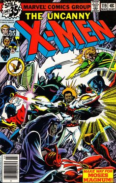 Cover for The X-Men (Marvel, 1963 series) #119