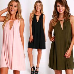 Treat yourself Tuesday  Sleeveless Pleat Dress (orig. $24.99 NOW $19.99 with 20% OFF dress sale using code DRESS20 #4thandocean) Stores are open today from 10-8p! Come shop with us or check out what's new online at sophieandtrey.com with F R E E shipping on all orders! XO #freeshipping #weshipfree #boutique #womenswear #sophieandtrey #sale #dresssale #dress #newarrivals #lbd #tanktop
