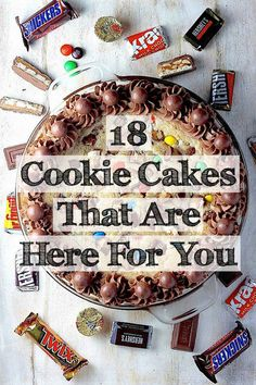 18 Cookie Cakes That Won't Let You Down