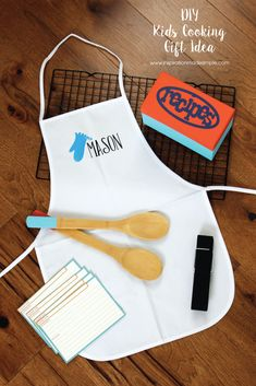 DIY Kids Cooking Gift Idea