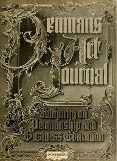 Typography 37 1909 by CharmaineZoe, via Flickr