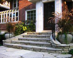 каменные материалы для строительства современных лестниц