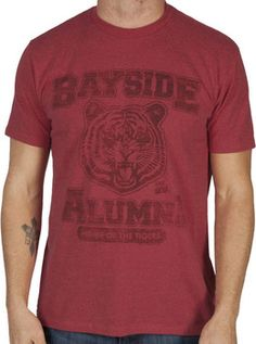 Ripple Junction Saved by The Bell Bayside Tigers PE Tee Junior T-Shirt