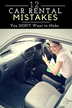 Need to rent a car on your next vacation? Read these 12 Car Rental Mistakes you don't want to make!