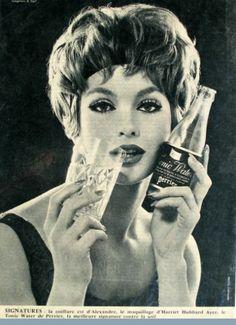 Publicités anciennes - Perrier