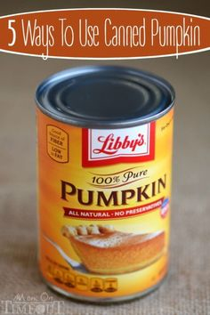 What to do with all of that canned pumpkin? Instead of leaving it for next year, make some delectable dishes today! If you have a sweet tooth (or children, for that matter), try your hand at pumpkin butterscotch fudge. an easy treat that you can make Pumpkin Recipes, Fall Recipes, Holiday Recipes, Great Recipes, Favorite Recipes, Pumpkin Dishes, Dog Recipes, Thanksgiving Recipes, Canned Pumpkin
