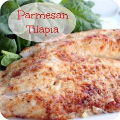 21 Day Fix: Parmesan Crusted Tilapia