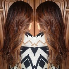 Brown Hair with some Highlights