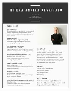 Curriculum Vitae - bits and pieces of things that tell about me