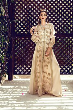 Arushi Couture's latest collection of Henna Dresses  and luxury Kaftans