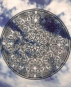 Mandala Designs, coastline-haze: Sharpies and insomnia; please...