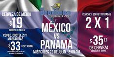 Miércoles llego la hora de la verdad disfruta del partido de México en el Bebedero con muchas promociones, te esperamos!!!!