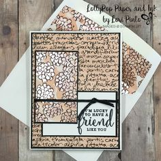 Stampin' Up! Stampinup! Pal's July Blog Hop Designer Series Paper Share What You Love DSP and Love What You Do Stamp Set with Beautiful Layers Thinlits Dies by Lori Pinto1