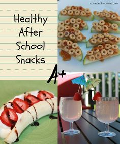 Healthy snack ideas on pinterest healthy snacks healthy for Quick healthy snacks to make at home