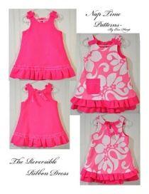 Tutorial: Reversible Ribbon Dress for little girls · Sewing | CraftGossip.com