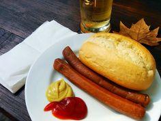 Vegane Wiener auf der Peißnitz in Halle und ein leckeres Bier, so kann ich es aushalten ;)