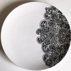 """""""Lace Plate"""" - Yvonne Ellen"""
