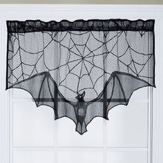 Magnetic Bat Curtain - Gifts, Clothing, Jewelry, Home Decor and Home Furnishings as Featured in Popular Catalogs   Catalog Favorites