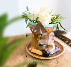 Give Your Entire House An Energy Makeover With These Crystals — mindbodygreen Crystals And Gemstones, Stones And Crystals, Chakra Crystals, Selenite Lamp, Displaying Crystals, Crystal Aesthetic, Crystal Decor, Crystal Room, Crystal Altar