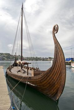 A family in Norway's historic whaling port of Sandefjord is offering one for sale, an exact replica of the famous Oseberg ship excavated in 1904 and on display at the Viking Ships Museum in Oslo.