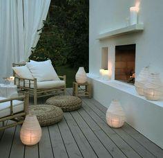 Os mostramos algunas ideas para lucir con encanto y glamour vuestra terraza ⛲ www.mueblesvintage.tienda
