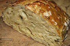 Recept na domáci chlebík pečený v obyčajnej elektrickej rúre