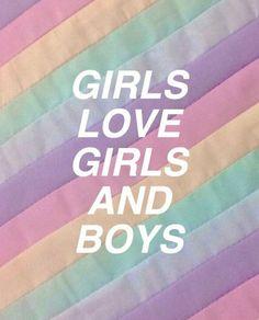 At the Disco // Girls/Girls/Boys Bisexual Pride, Gay Pride, Tumblr Wallpaper, Peach Wallpaper, Boys Wallpaper, Lgbt Quotes, Gay Aesthetic, Peach Aesthetic, Rainbow Aesthetic