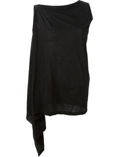 RICK OWENS DRKSHDW Asymmetric Top. #rickowensdrkshdw #cloth #top