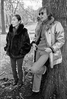 John And Yoko by Allan Tannenbaum. ♥️ John Winston Ono Lennon, (born John…