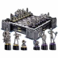 Batman šachy The Dark Knight Collector´s Chess Set