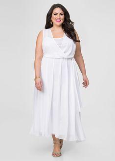 Georgette Surplice Maxi Dress Georgette Surplice Maxi Dress