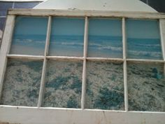 Cottage Beach House: Easy Old Window Projects