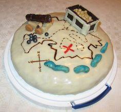Mondkunst: Happy Birthday, Blog - Piratentorte