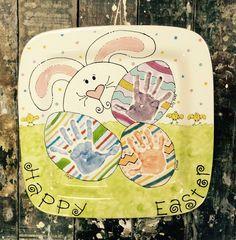 Easter egg handprint