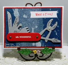 What A Tool Pun By Kraftyaunt Cards And Paper Crafts At Splitcoaststampers Art Impressions Cards Art Impressions Cards