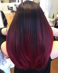 31 Red Ombre Hair Color Ideas You Won't Regret Trying