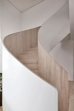 Residence in Sao Paulo Brazil by Bernardes Arquitetura Image by Ruy Teixeira (Step Design Architecture) Stairs And Staircase, Interior Staircase, Exterior Stairs, Stair Handrail, Stairs Architecture, House Stairs, Staircase Design, Amazing Architecture, Interior Architecture