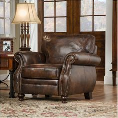my favorite leather chair