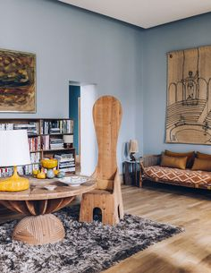 eclectic left bank beauty featured in architectural digest france. / sfgirlbybay