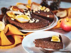 Nepečený pohankový perník Vegan Cake, Vegan Gluten Free, French Toast, Cheesecake, Food And Drink, Breakfast, Sweet, Cakes, Fitness