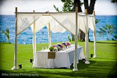 Maui Wedding Cabana    The Wedding Lady - Exquisite Wedding Planning in Maui Hawaii and Vancouver BC    #weddinglady.com