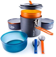 Amazon.com : GSI Outdoors Pinnacle Dualist Outdoor Cook Set : Gsi Cookware : Sports & Outdoors