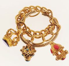 Etruscan Charm Bracelet