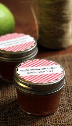 Apple Cinnamon Butter | Joanne-EatsWellWithOthers.com