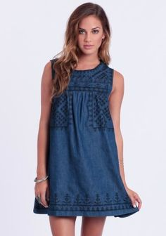 Fortune Embroidered Dress