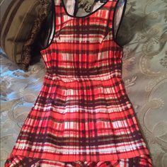 Women's XOXO Dress NEW WITH TAG Size M  Women's Beautiful XOXO Dress New With Tag As Shown Size M with zipper down back, material; Polyester/ Spandex.Please stop by my closet for other great deals..SHARE, SHARE, SHARE, the favor will be returned. Paypal Accepted. XOXO Dresses Midi