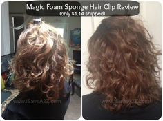 Magic Foam Sponge Hair Clip Review