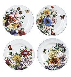 Flowers Party Plates | eatwell101.com
