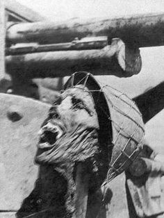 """On February 1, 1943, Life magazine published a photograph taken by Ralph Morse during the Guadalcanal campaign showing a decapitated Japanese head that US marines had propped up below the gun turret of a tank. Life received letters of protest from people """"in disbelief that American soldiers were capable of such brutality toward the enemy."""" The editors responded that """"war is unpleasant, cruel, and inhuman. And it is more dangerous to forget this than to be shocked by reminders."""""""